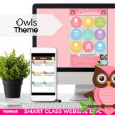 Parent Communication Template | Google Slides | Class Website | OWLS