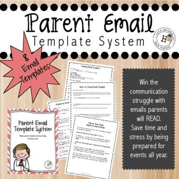 Parent Communication Templates