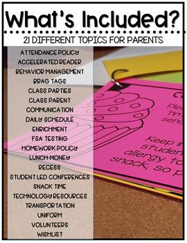 Parent Communication Tool {EDITABLE}