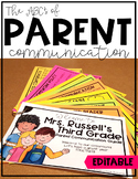 Parent Communication Tool {EDITABLE}