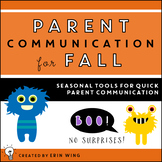 Parent Communication Tools for Fall