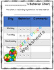 Parent Communication: Weekly Behavior Chart