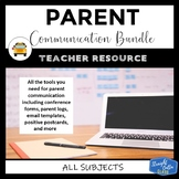 Parent Communication, Conferences, and Class Newsletter Resources