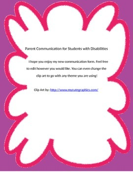 Parent Communication for Students with Disabilities