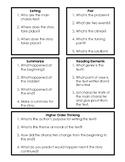 Parent Comprehension Review Questions