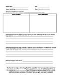 Parent Concerns Form