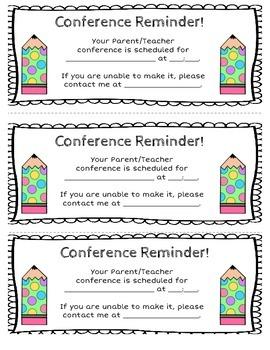 Parent Conference Bundle