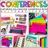 Parent Teacher Conference Forms ( Editable Bundle )
