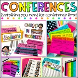 Parent Teacher Conference Forms | Reminders, Sign Up Sheets, Reports and MORE
