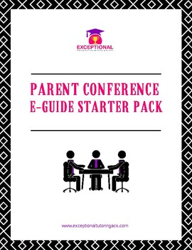 Parent Conference E-Guide Starter Pack