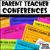 Parent Teacher Conference Forms (ENGLISH and SPANISH)