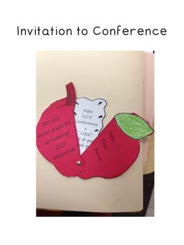 Parent Conference Freebie