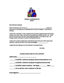 Parent Conference Letters- Schedule Appointments,Confirm a