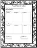 Parent Conference Log