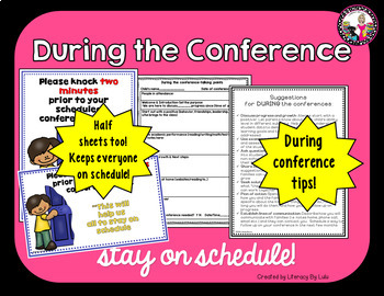 Parent Conference MEGA PACK!!