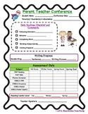 Parent Conference Progress Report