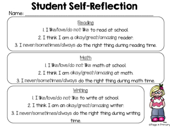 Parent Conference Reflection