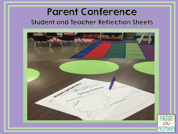 Parent Conference Reflection