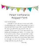Parent Conference Request Form