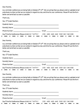 Parent Conference Sign-Up