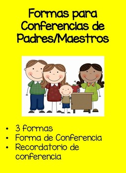 Parent Conference Spanish Forms