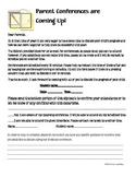 Parent Conferences- Date/Time Confirmation Letter