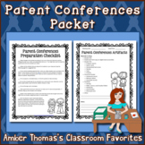 Parent Conferences Packet
