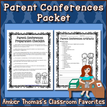 Parent Conferences Packet