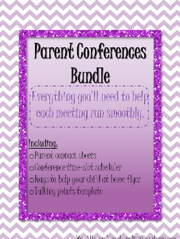 Parent Conference Bundle