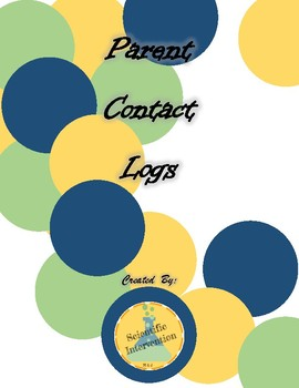 Parent Contact Documentation Log