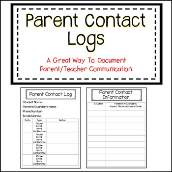 Parent Contact Forms