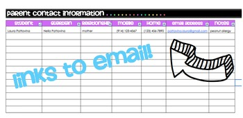 Communication Log AND Contact List!