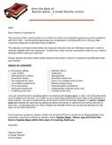 Parent Contact Letter (Discipline)