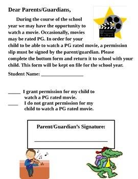 Parent Contact, Letters, Lunch Poster