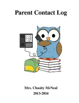 Parent Contact Log