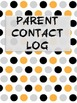 Parent Contact Log