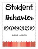 Parent Contact Log - Student Behavior Tracker