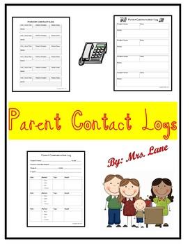 Parent Contact Logs
