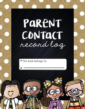 Parent Contact Record