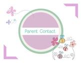 Parent Contact Recorder