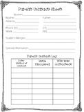 Parent Contact Sheet- Contact Log