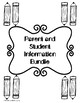 Parent Contact and Communication Packet