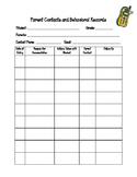 Parent Contact Record Sheet