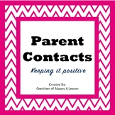 Communicating with Parents- Tips for Teachers