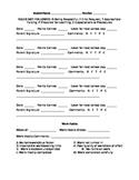 Parent Daily Behavior Report