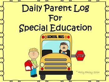 Daily Parent Log