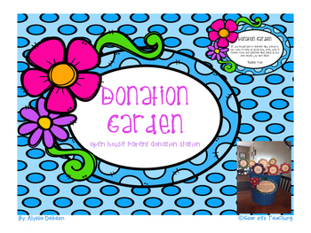 Parent Donation Garden