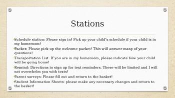 Parent Drop-In PowerPoint Template