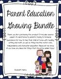 Parent Education Growing Bundle