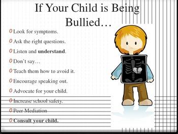 Parent Education Presentation on Bullying